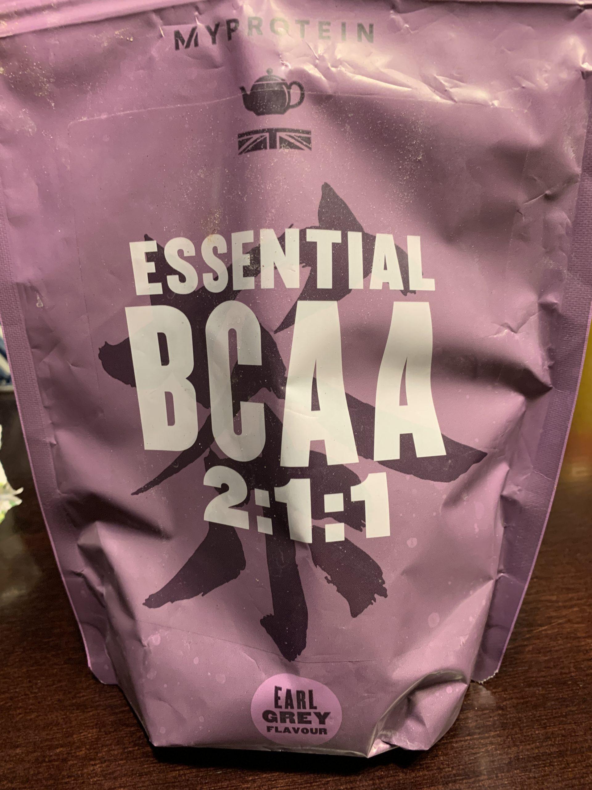 【マイプロテイン】Iアールグレイ風味 BCAA 2:1:1 評価データ