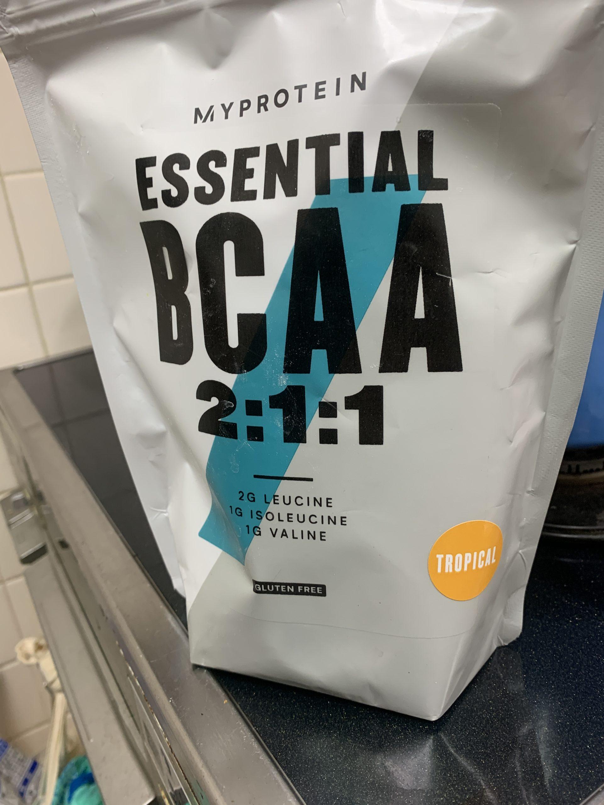 【マイプロテイン】トロピカル味 BCAA 2:1:1 評価データ