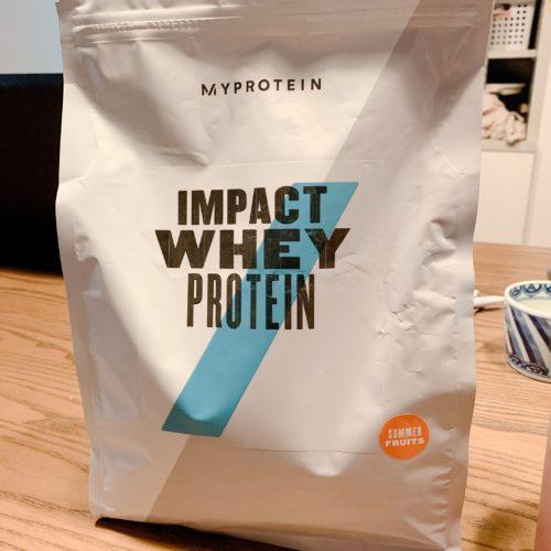 【マイプロテイン】IMPACT WHEY PROTEIN「ココナッツ」評価データ